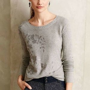 Knitted & Knotted | Anthropologie Foil Sweater